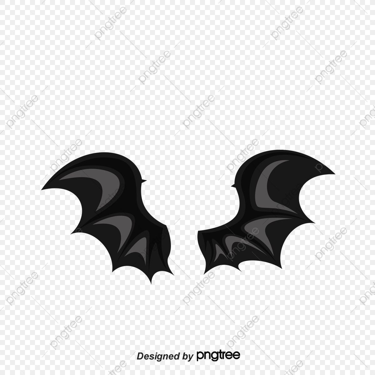 Gray Bat Wings, Bat Clipart, Wings Clipart, Bat PNG Transparent.