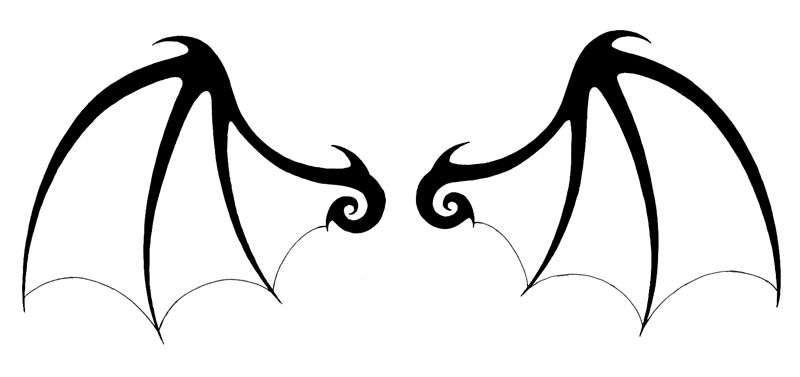 Free download Bat Wings Clipart for your creation..