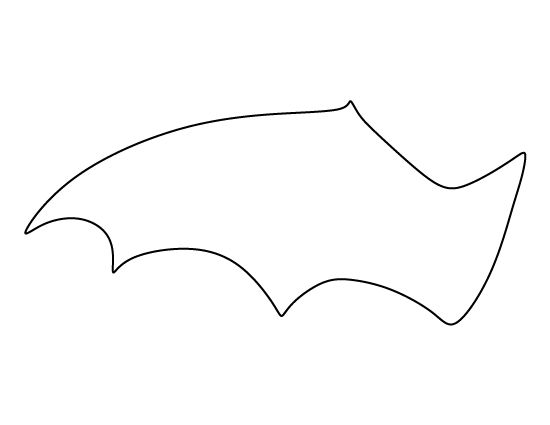 Bat wings clipart 3 » Clipart Station.