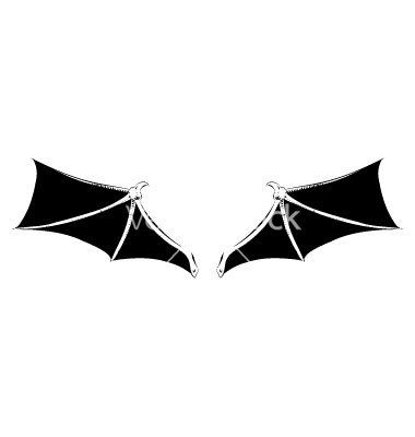 Bat wings clipart » Clipart Station.