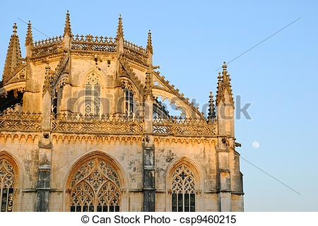 Stock Images of Batalha monastery, Portugal.