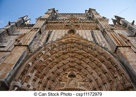 Picture of Batalha monastery, Portugal.