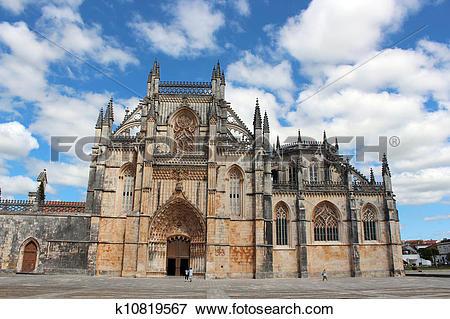 Picture of Batalha Monastery k10819567.