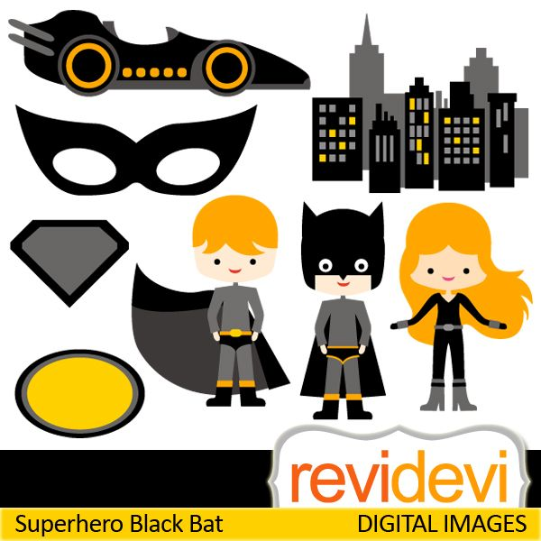 Girl bat costume clipart.