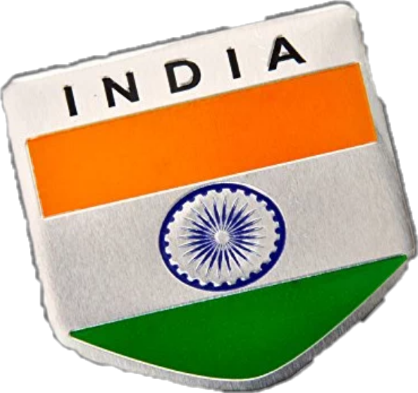 HD 4)indian Flag Batch Png.