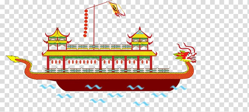 Dragon Boat Festival Bateau.