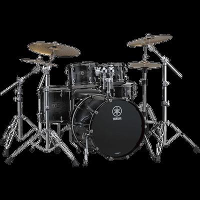 Drums Black Yamaha transparent PNG.
