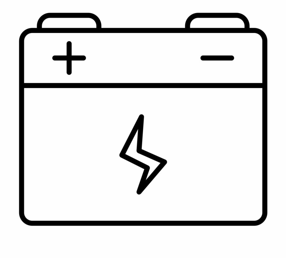 Free Battery Clipart Black And White, Download Free Clip Art.