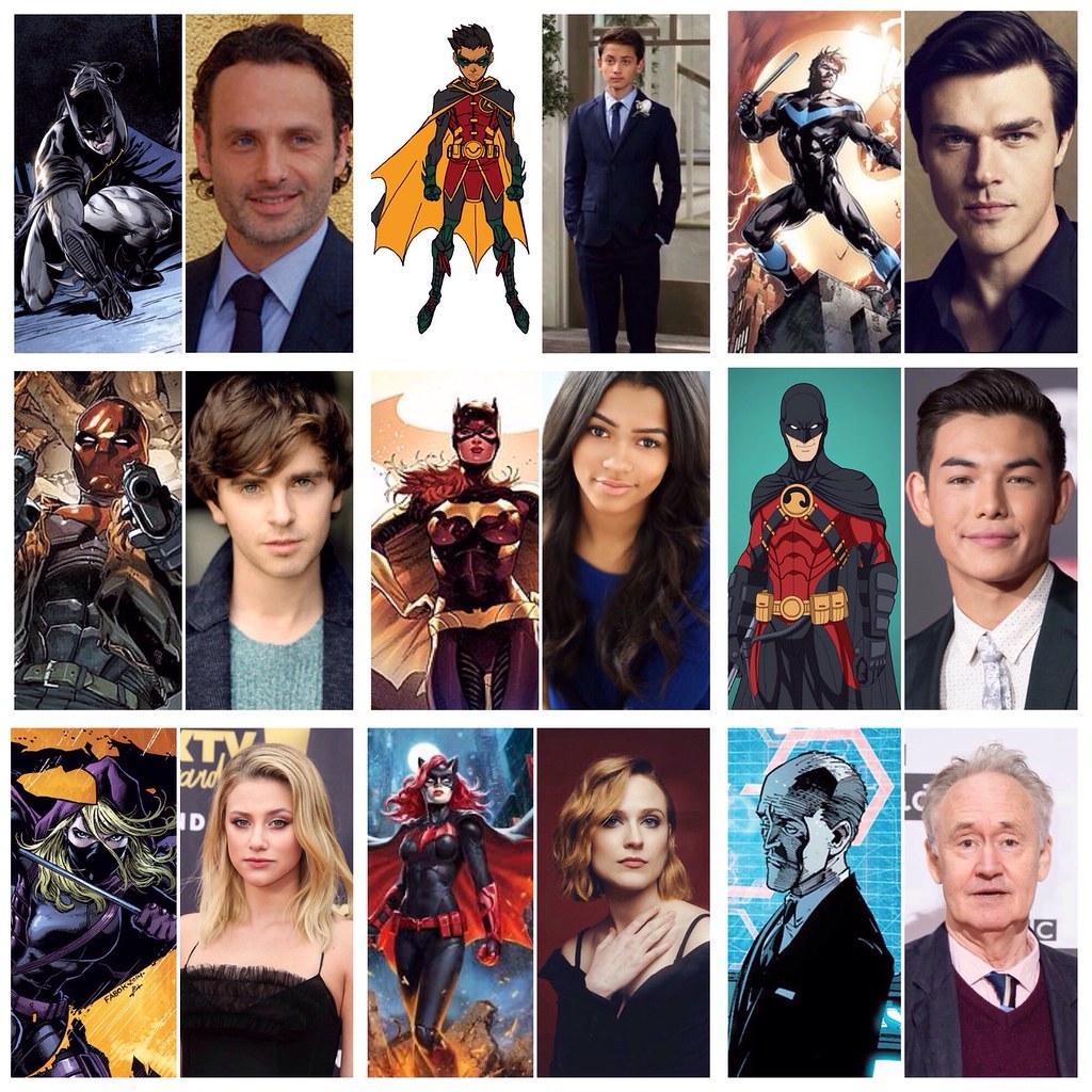 Batfamily fancast.