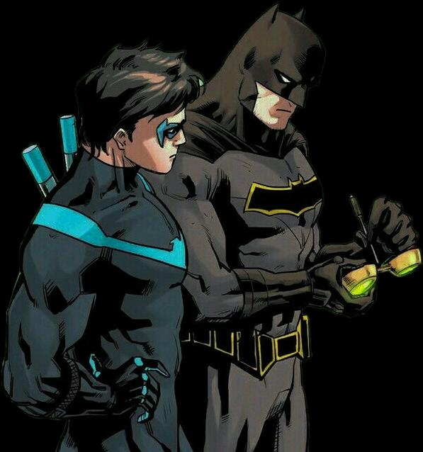 batman brucewayne nightwing dickgrayson batfam batfamil.