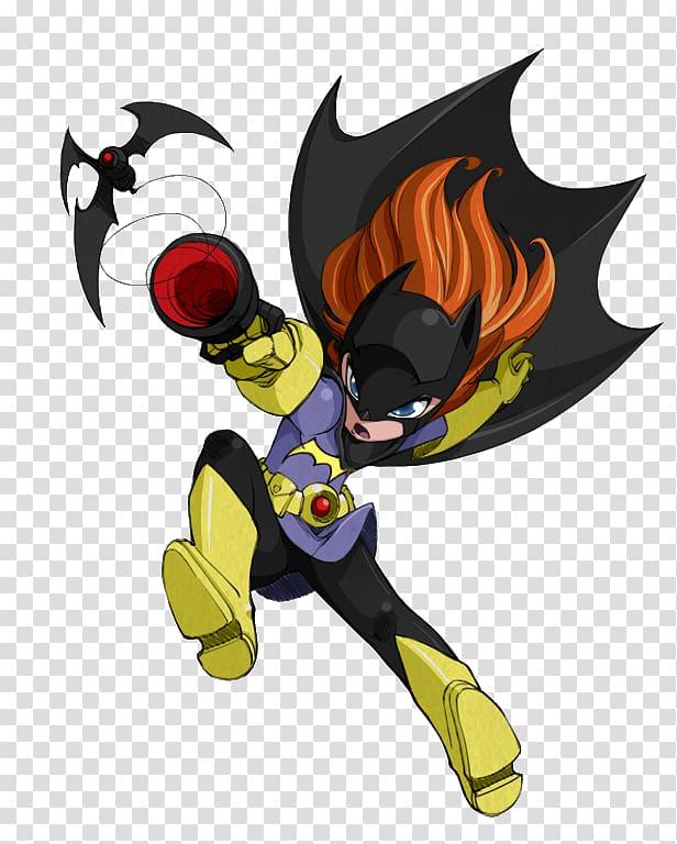 Batgirl Batman Barbara Gordon , Batgirl transparent background PNG.