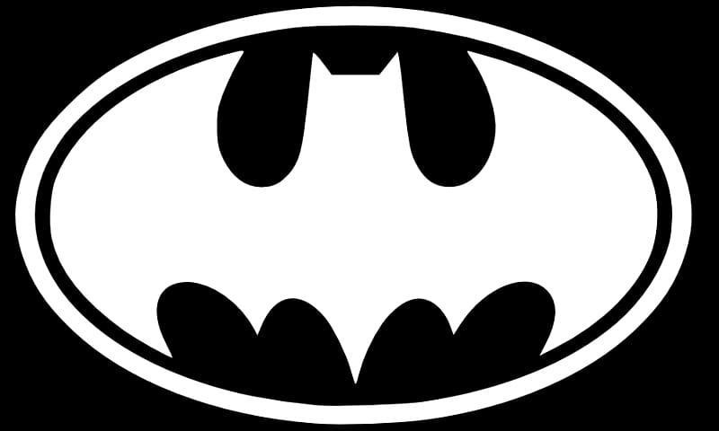 Batman Black and White Batgirl Logo , Batman Symbol.