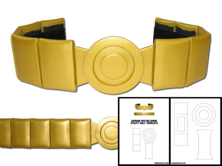 Template for Damian Wayne Robin Utility Belt.