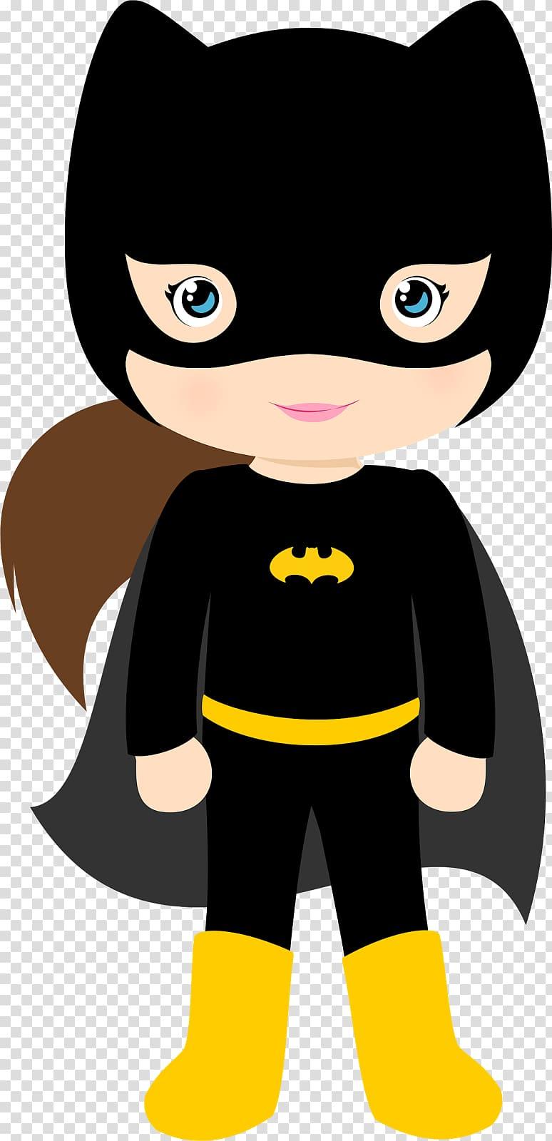 Batgirl Batman Batwoman Superhero , bat transparent.