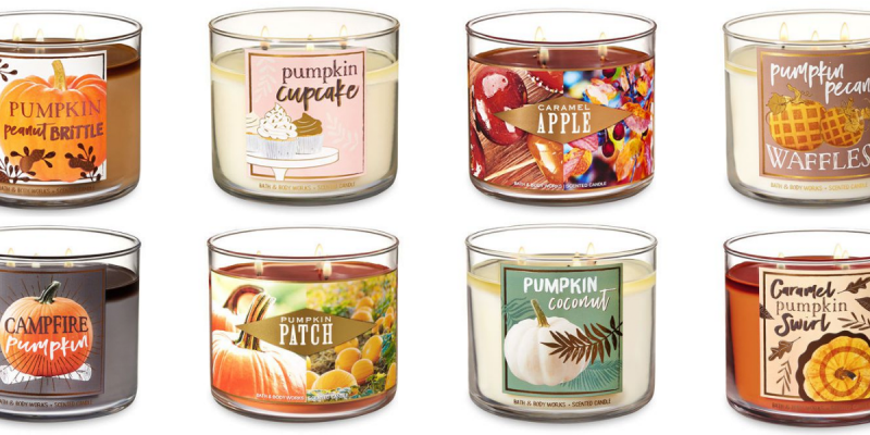 Stop Everything: Bath and Body Works Just Released Their New Fall.