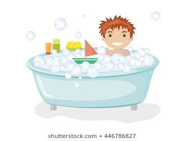 Take a bath clipart 2 » Clipart Portal.