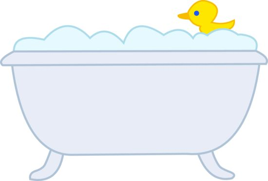Bubble bath clip art.