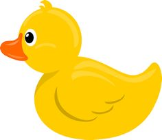 Cute Cartoon rubber duck.