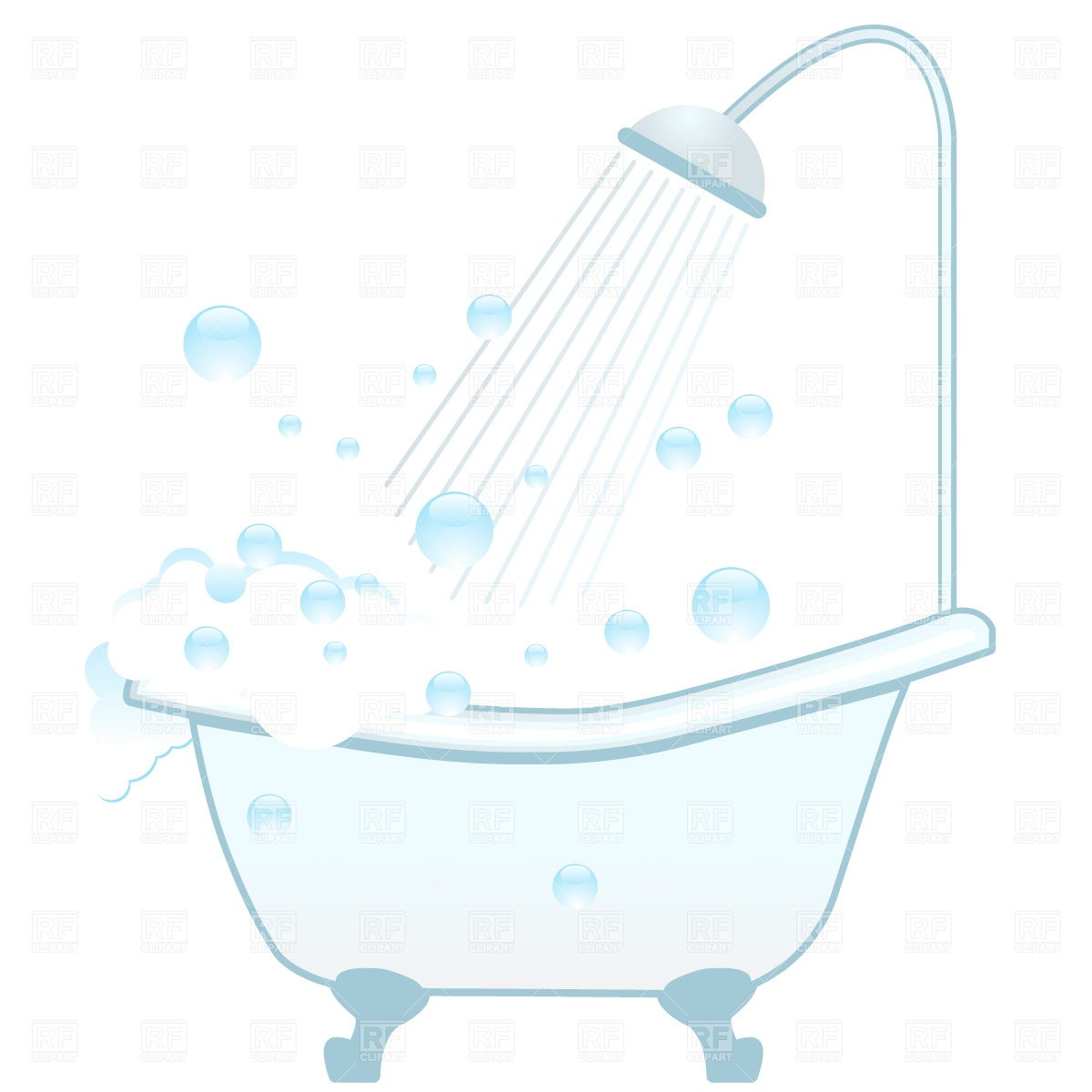 Clip Art Bath Shower Clipart.