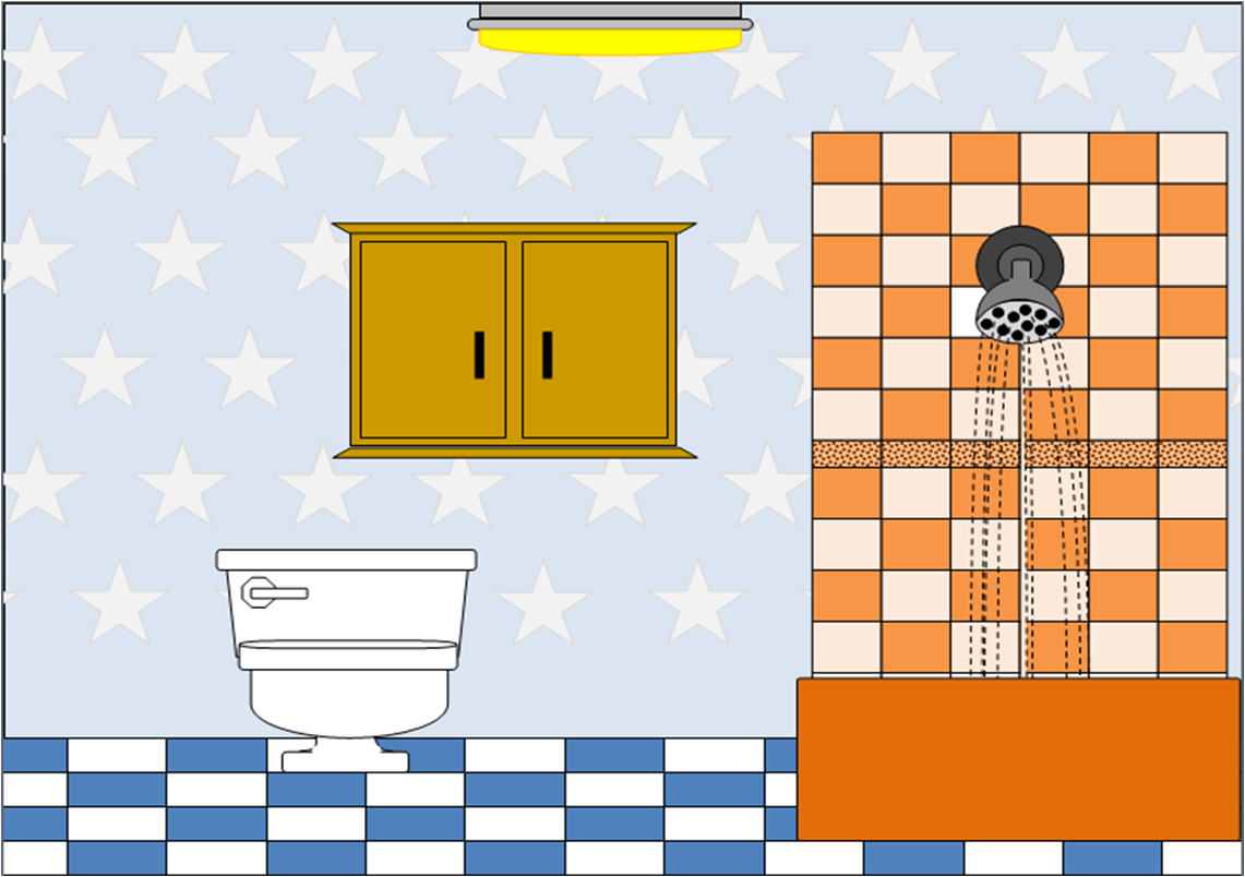 Bathroom Clipart.