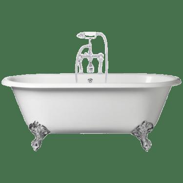 Ornate Freestanding Bath transparent PNG.