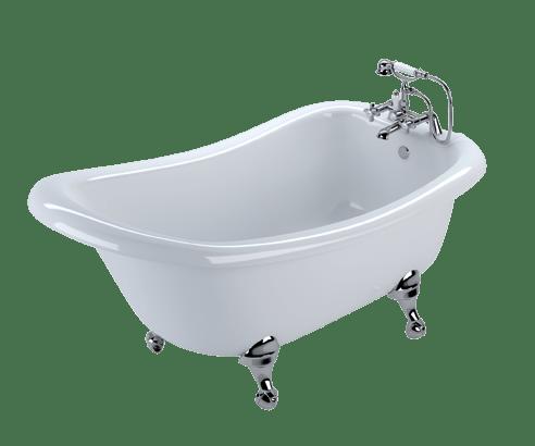 Vintage Freestanding Bath transparent PNG.