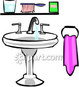 Dirty Bathroom Clipart.
