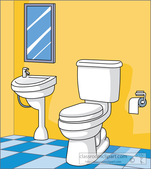 Free clipart bathrooms.
