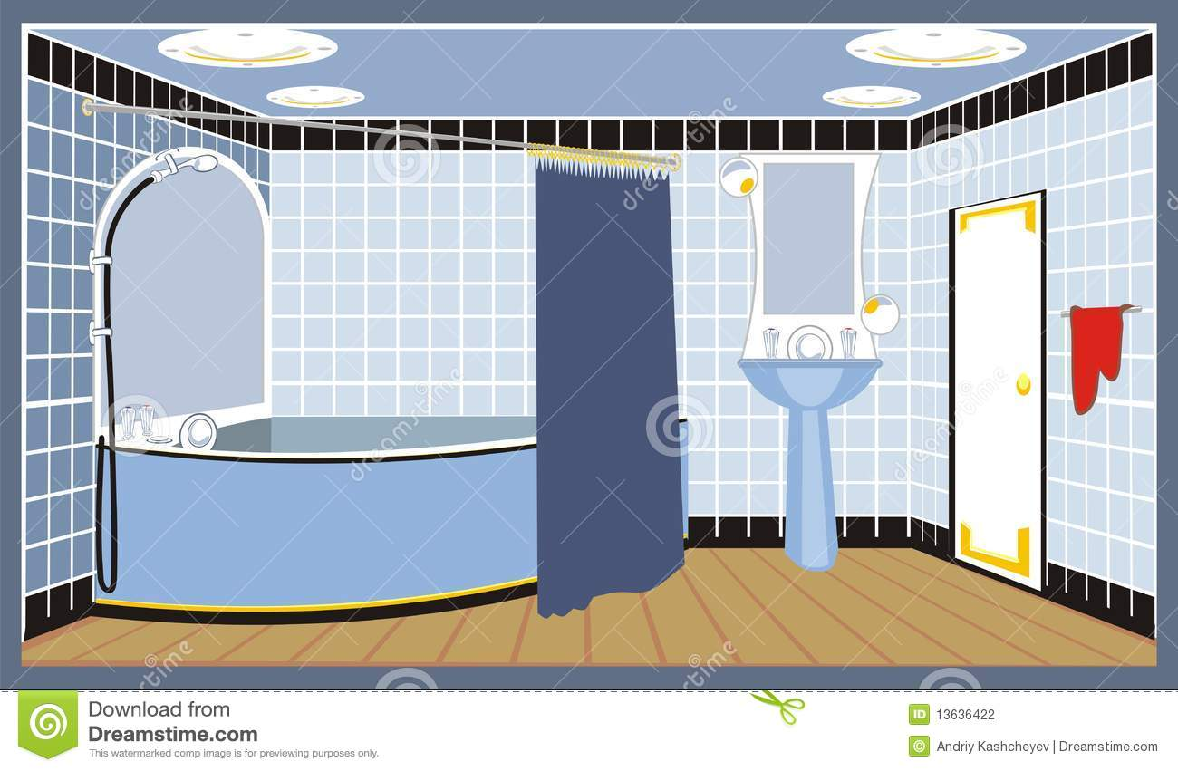 Bath Rooms Clipart Clipground