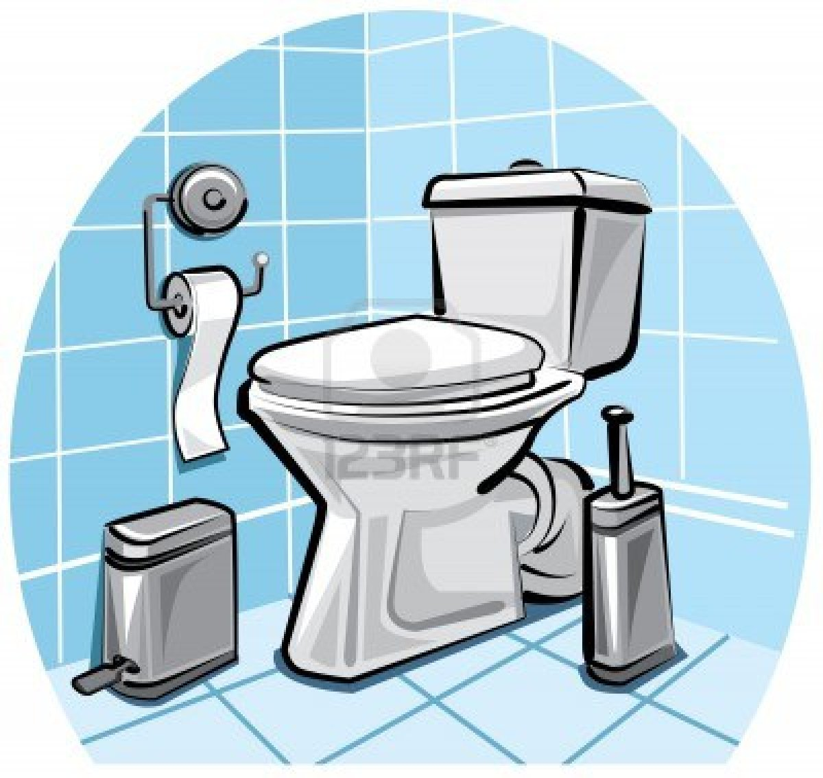 Clipart for bathrooms.