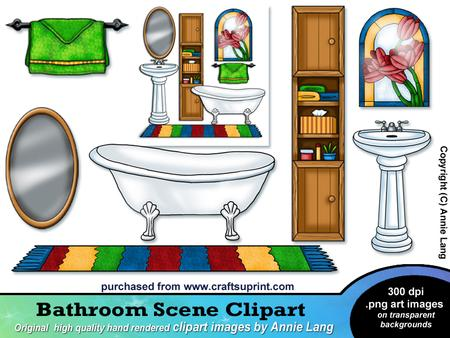 Bathroom Clipart For Kids.