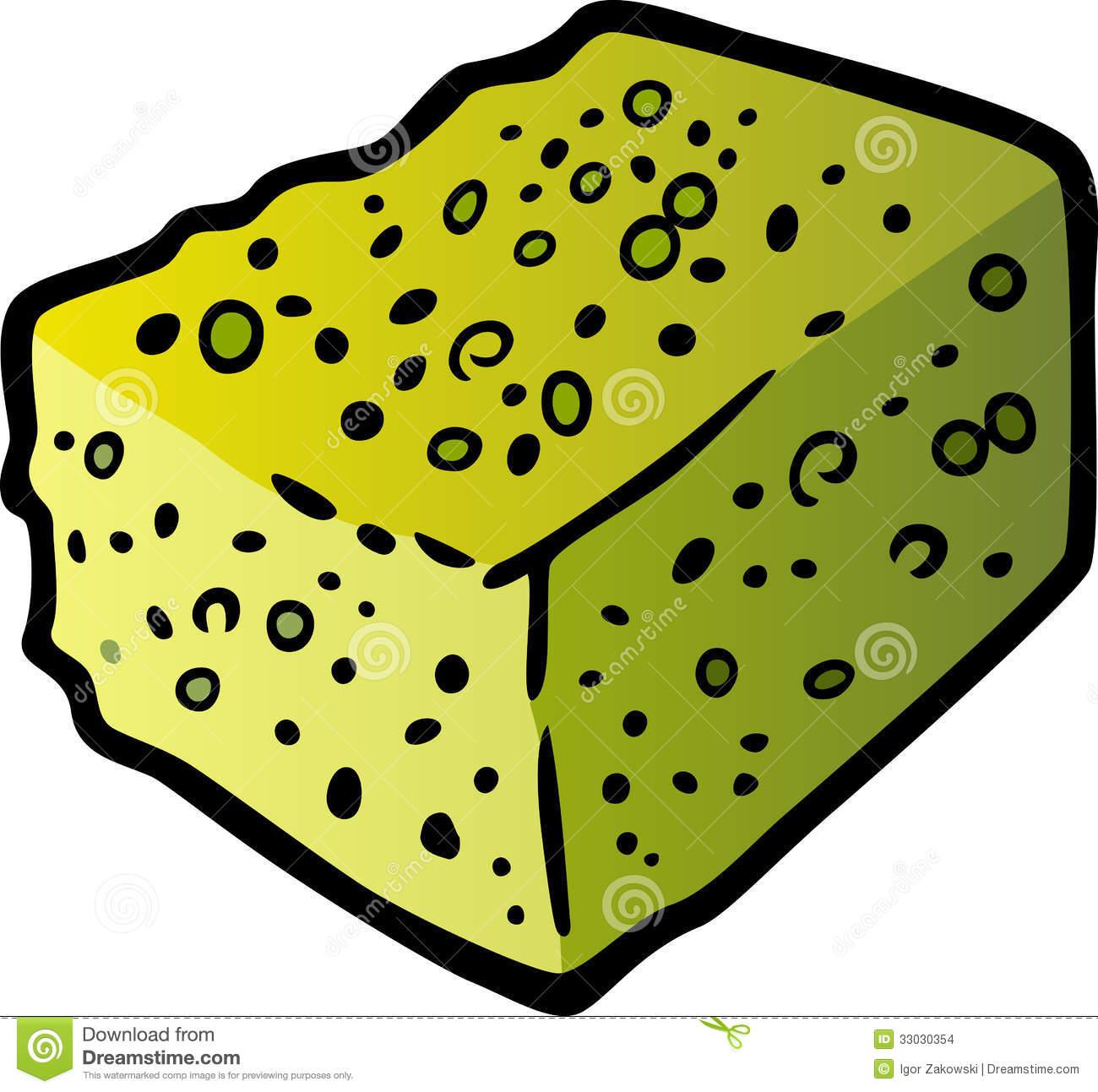 Clip art sponge.