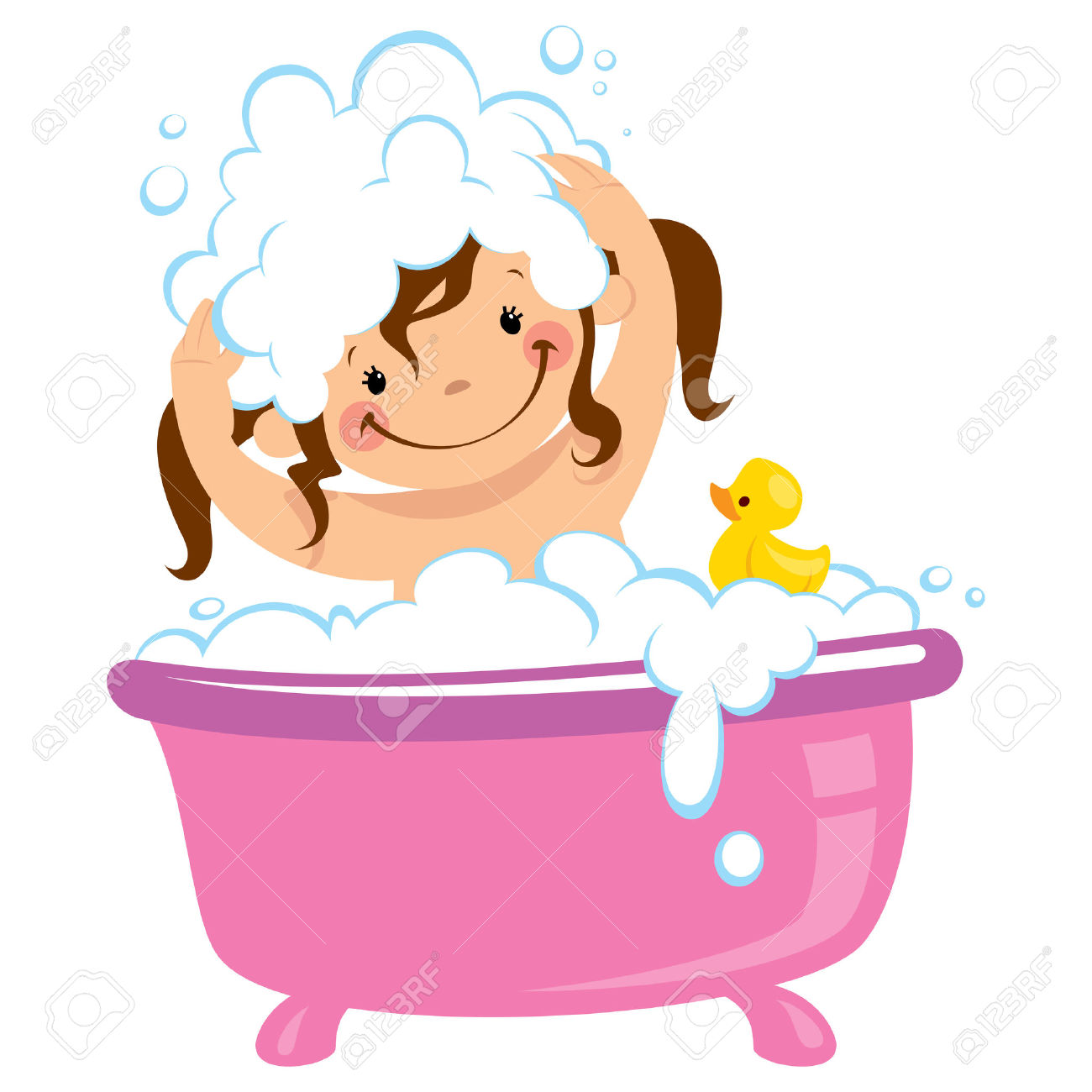 Bath Time Clipart Free.