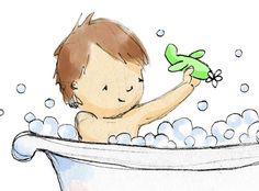 Clipart bath time.