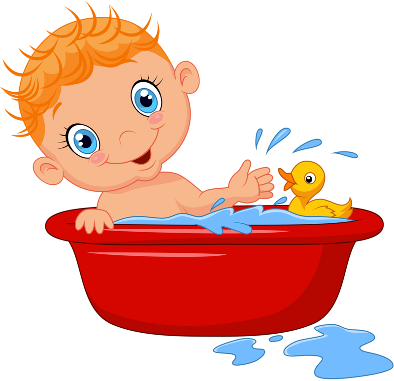 Showering clipart bathtime, Showering bathtime Transparent.