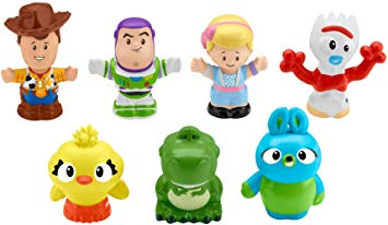 Toy Story Disney 4, 7 Friends Pack by Little People.