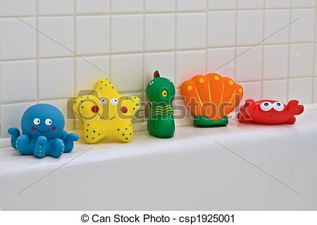 Stock Photography of Bath Toys.
