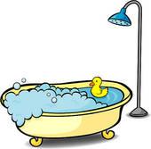 Bathtub Clipart.