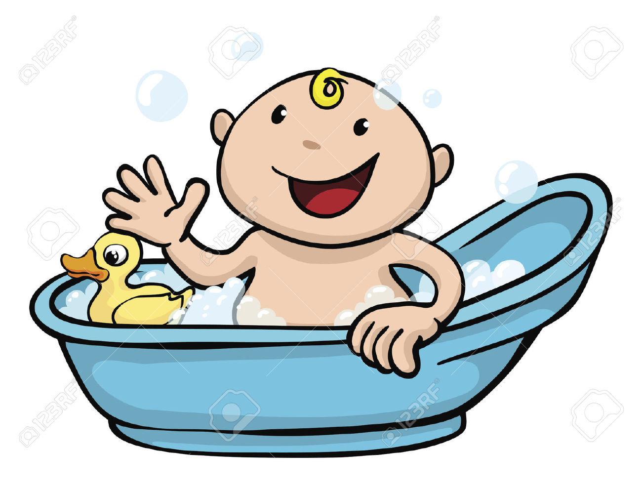 Bathing clipart - Clipground