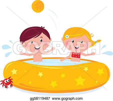 Bather Clip Art.