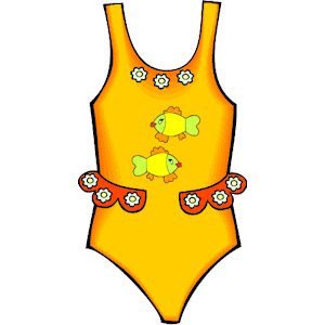 Swim Suit Clipart.