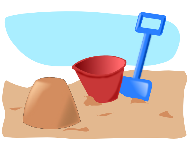 summertime beach clipart #15