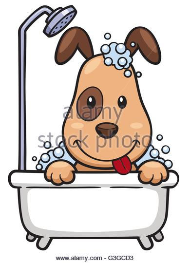 Bathing Stock Vector Images.