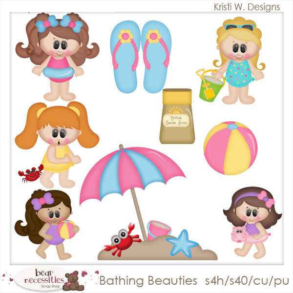 Girl Clip Art : Clip Art Designs, Commercial use products for.