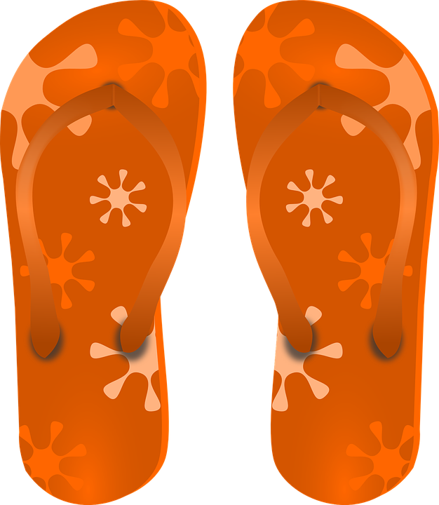 Free vector graphic: Sandals, Shoes, Slippers.