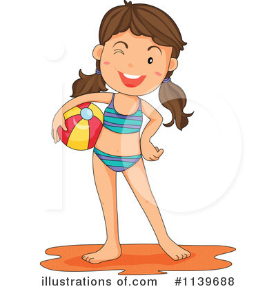 Bathing suit clipart girl free.
