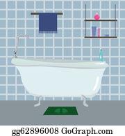 Bath Mat Clip Art.