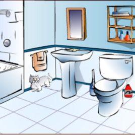 Bathroom Cartoon Clipart Clipart Kid Bathroom Clipart In.