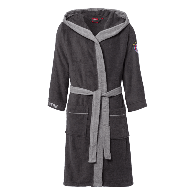 Bathrobe anthracite.