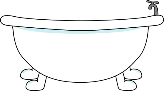 Free Bathtub Clipart Black And White, Download Free Clip Art.